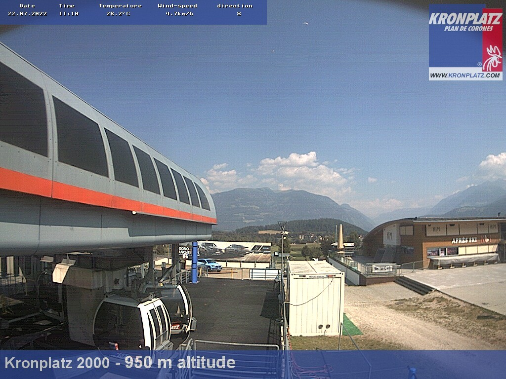 Webcam Stazione a valle di Riscone 950m
