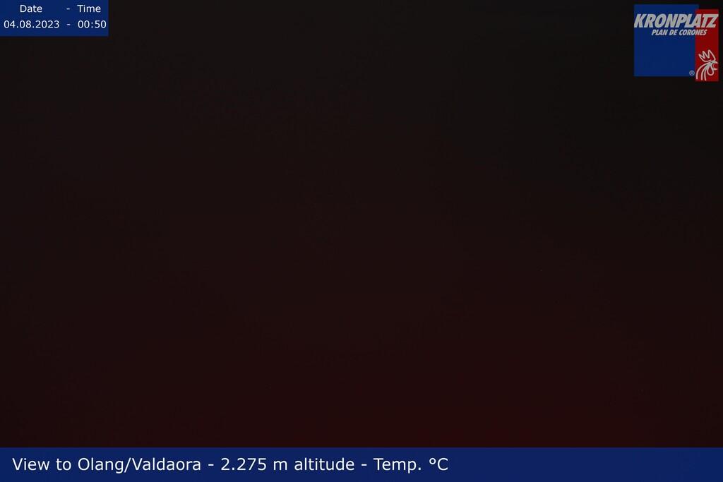 Webcam top of Kronplatz in direction Olang