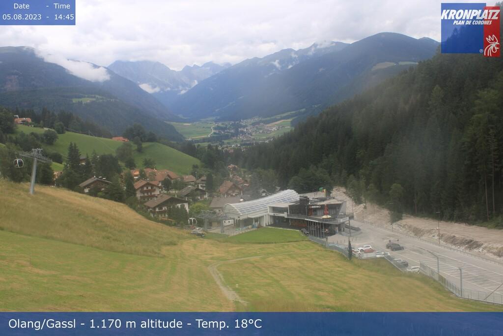 Webcam stazione a valle Valdaora