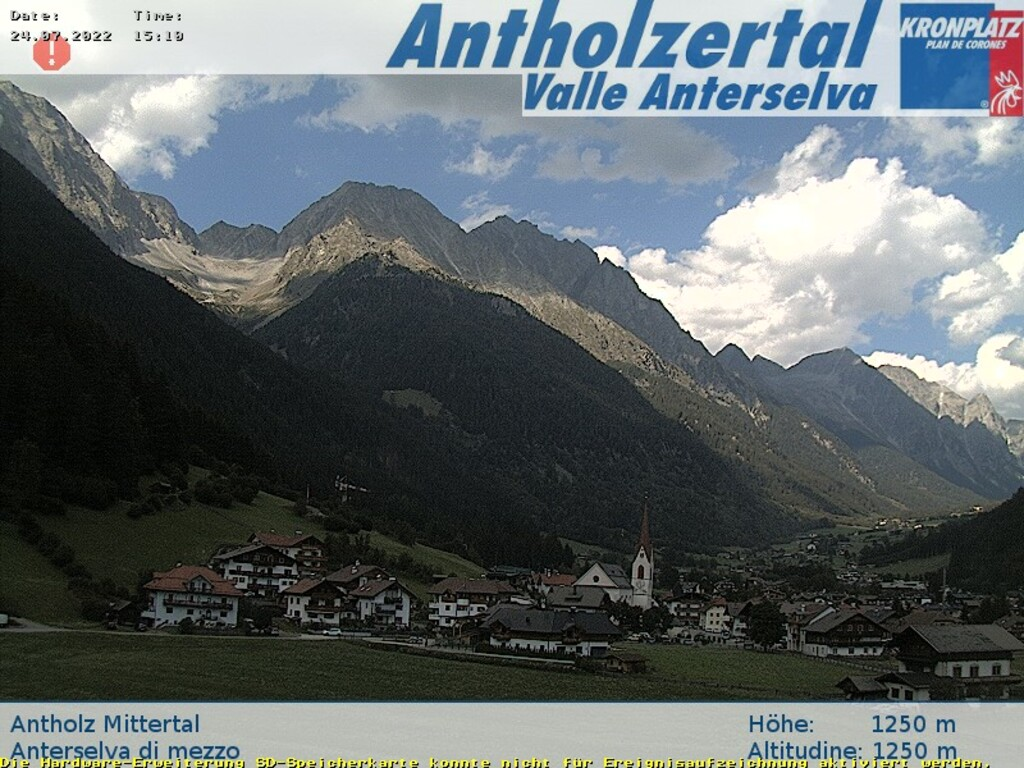 Webcam Antholz