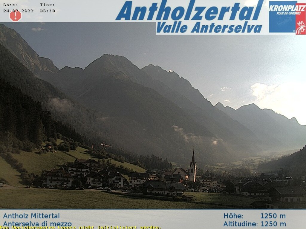 Webcam Anterselva di Mezzo